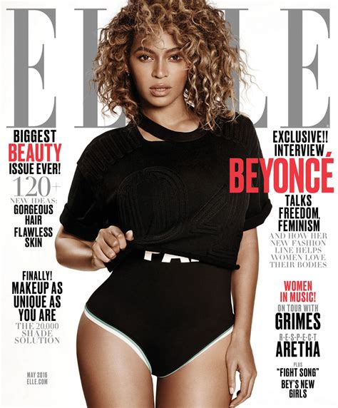 Beyonce On The Cover Of by Beyonc 233 Magazine Cover And Pics May 2016