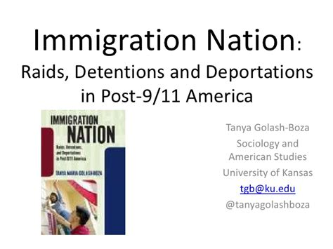 Picture Post Nation 9 by Immigration Nation Raids Detentions And Deportations In