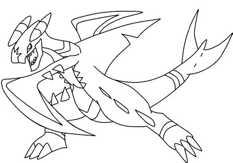 pokemon coloring pages garchomp base 3 mega garchomp by thegreatpikminzx on deviantart