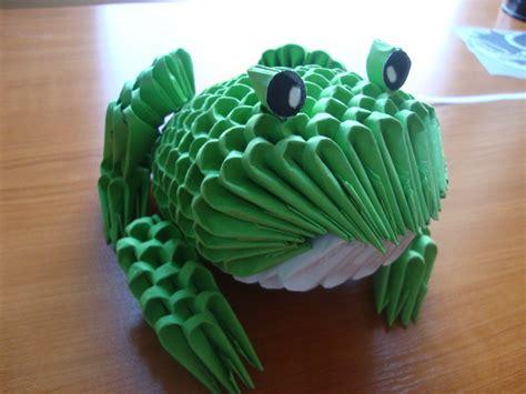 3d Origami Frog - frog album mindaugas 3d origami
