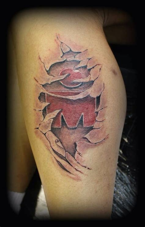 mdot tattoo designs my ironman by taz ironman s
