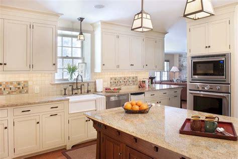 houzz kitchen ideas delorme designs white craftsman style kitchens