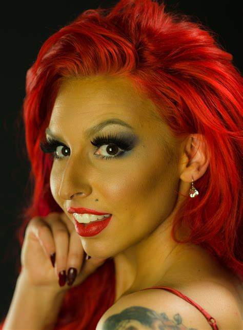 get pin up red hair color keep it vibrant brown hair red lips brown hairs