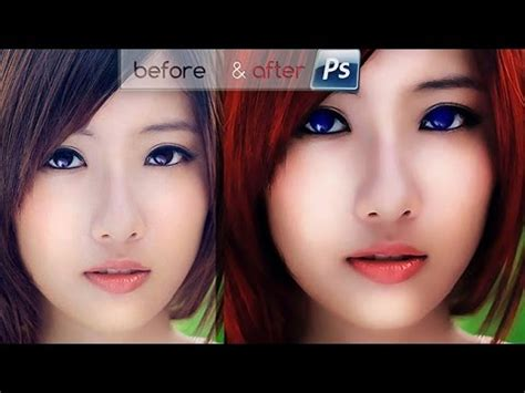 tutorial edit foto wajah warna warni edit foto model karakter games warna 3d photoshop youtube