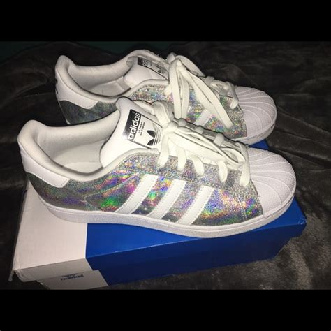 11 adidas shoes adidas original superstar holographic trainers from s closet on