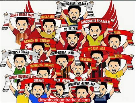 gambar kata timnas indonesia vs thailand aff 14 desember 2016 gambar kata