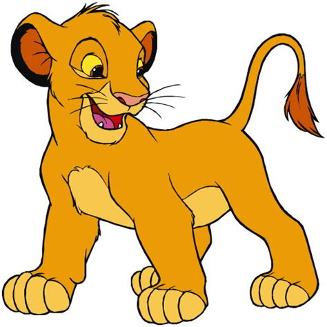 imagenes de leones bebes animados el rey leon clip art