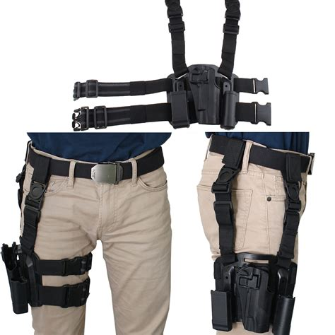 hülster bett agptek right tactical drop leg holster tactical belt
