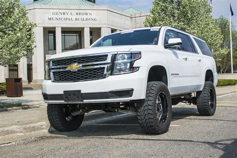 chevrolet suburban lifted 2015 2016 chevy gmc suv lift kits by bds suspension