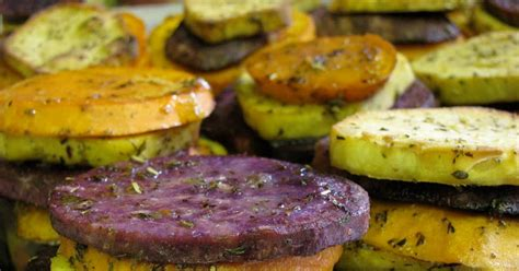 tri color potatoes on the stove top tri color potatoes