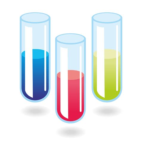 Test Tubs vector for free use test vector