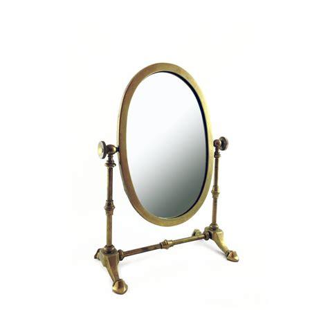 Antique Brass Vanity Mirror by Antique Brass Mirror Table Top Vanity Mirror Gold