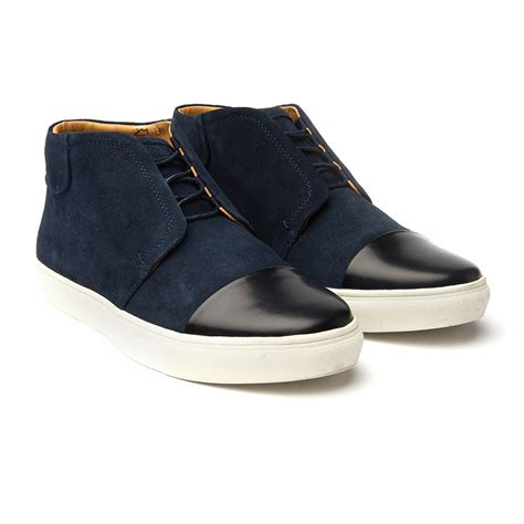 Homypro Hunt Sneakers Navy hunt chukka sneaker navy black us 7 5 j shoes touch of modern