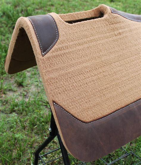 Wool Saddle Blankets For Horses by Western Contour Wool Felt Orthopedic Saddle Pad