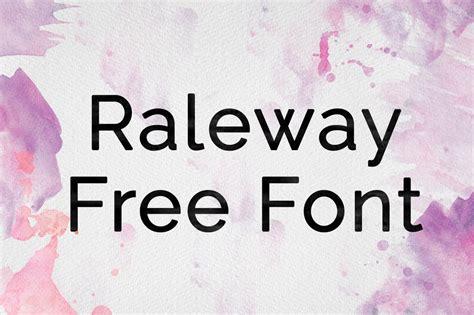 dafont raleway dlolleys help raleway free font
