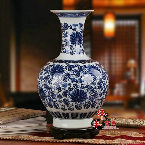 Blue And White Vase Made In China by Aliexpress Buy Jingdezhen Porcelain Vase
