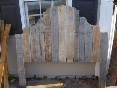 Headboards Out Of Pallets by Headboard Made From All Pallets Pallets To Pallets And Headboards
