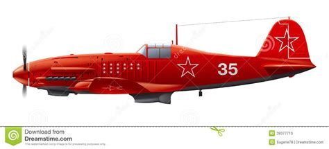 Amig7422 Wwii Soviet Airplanes Green Black Camouflages soviet aircraft stock vector image of flight 39377710
