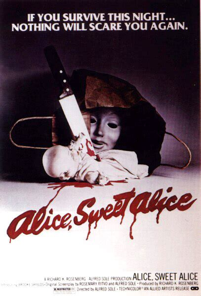 watch alice sweet alice 1976 full movie official trailer retro poster quot alice sweet alice quot 1976 bloody good horror horror movie reviews podcast