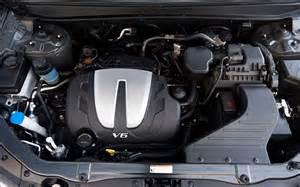 2011 hyundai santa fe engine cover 146625 photo 38