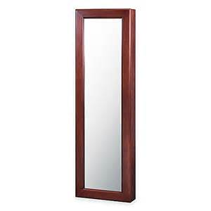 Wall Jewelry Armoire Buy Wall Mounted Jewelry Armoire With Mirror From Bed Bath