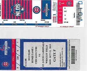 Cubs Ticket Office by Cubs Cardinals Tickets At A Premium For 4 But Beware