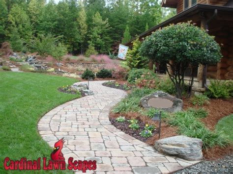 front yard walkway ideas patios walkways winston salem summerfield smith mt lake king