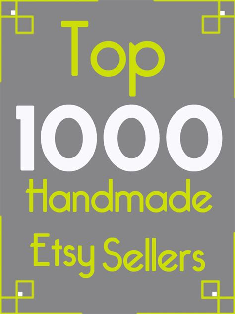 What Handmade Items Sell Best On Etsy - image gallery most successful etsy sellers