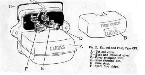 lucas ignition switch wiring diagram universal 4 position
