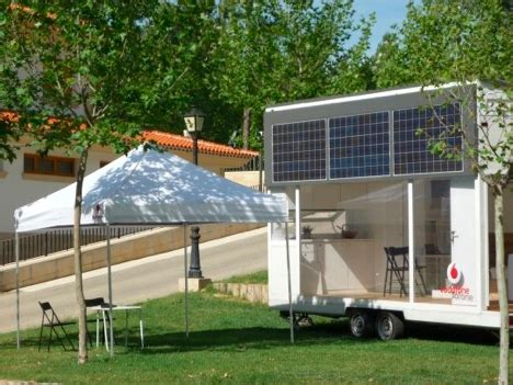 vodafon casa vodafone inaugura la prima casa ecologica portatile