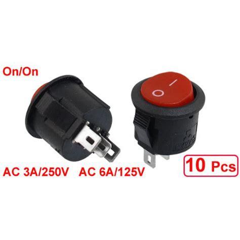 Promo Switch Lu On 3 Pin Rocker Switch Lu 3 Pin Kecil promotion 10 pcs spdt black button on on rocker switch ac 6a 125v 3a 250v us21