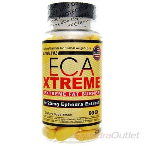 ECA Extreme Stack Ephedra Diet Pills   Fat Burner Supplements