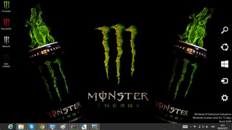 download theme windows 7 monster energy download gratis tema windows 7 monster energy theme for