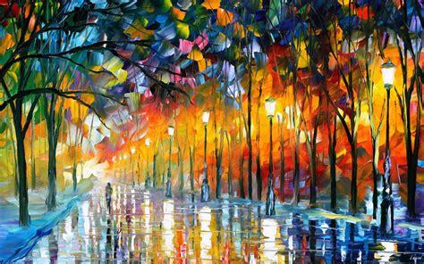 modern paints leonid afremov s modern impressionistic paintings hd
