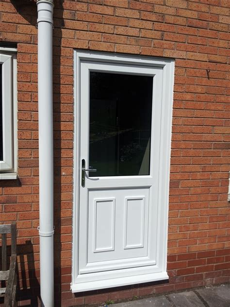 Backdoor Or Back Door by Portfolio Upvc Doors Warrington Cheshire