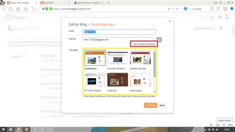 membuat blog website gratis cara membuat blog website gratis dengan mudah bagi
