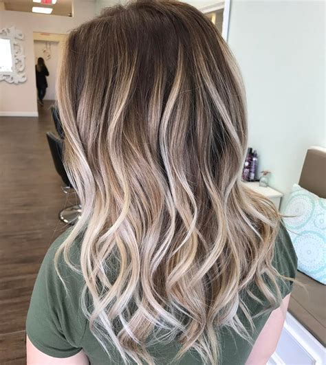 long brown hairstyles with parshall highlight how to go 70 balayage hair color ideas with blonde brown and