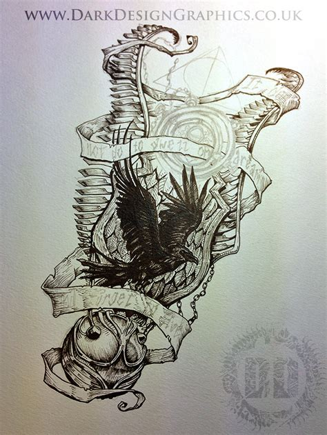 harry potter tattoo design dark design graphics