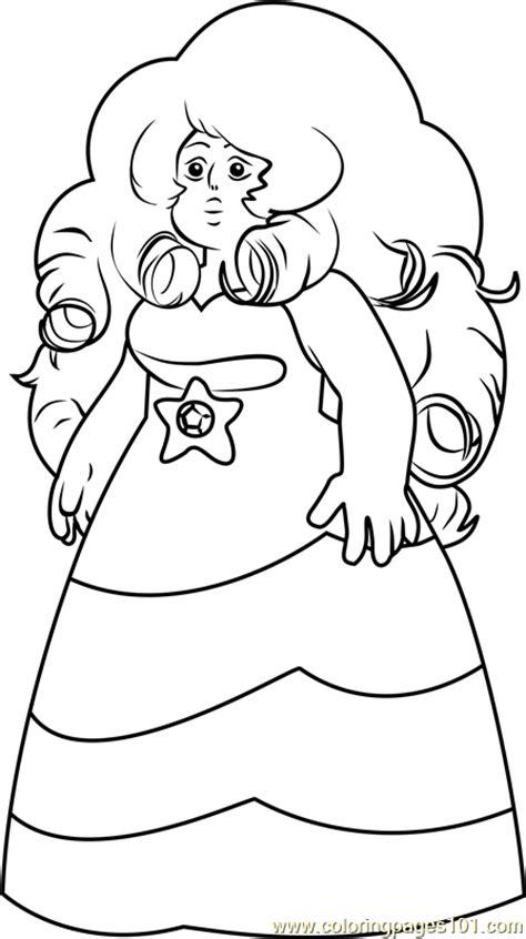 steven universe coloring pages online rose quartz steven universe coloring page free steven
