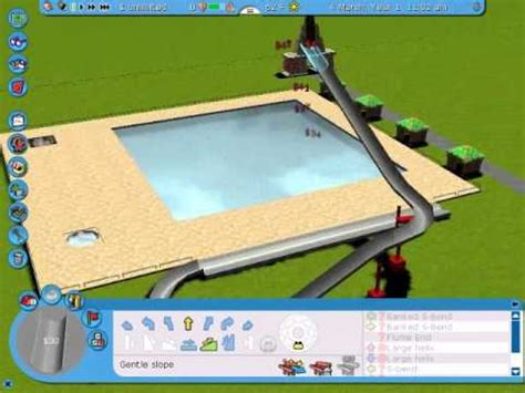 how to make a water slide on rct3