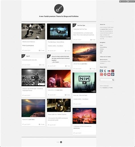themes for tumblr portfolio photography portfolio themes tumblr images