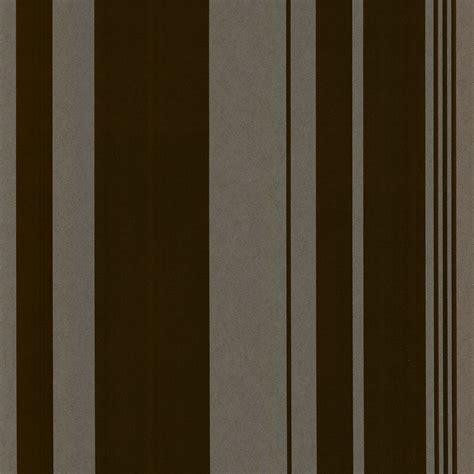 Sidey Choco casadeco sidney stripe flock wallpaper chocolate brown 14931502 wallpaper from i