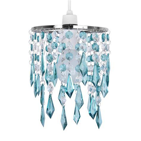 blue chandelier light teal blue green acrylic ceiling light l shade