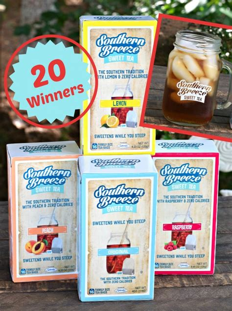 Tea Giveaway - southern breeze sweet tea giveaway 20 winners southern plate