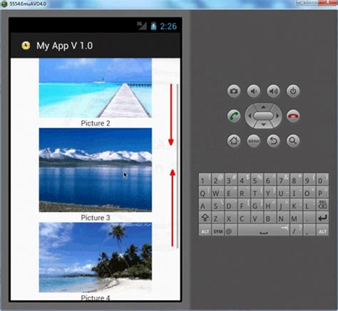scrollview android scrollview android widgets exle