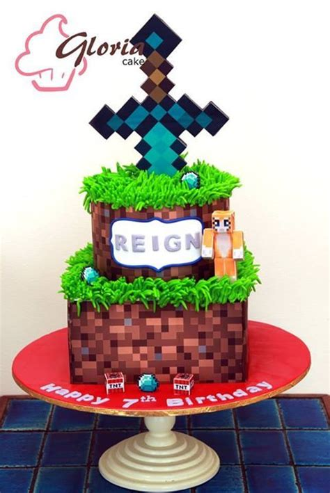 How To Decorate A Minecraft Cake by 95 Best Images About Minecraft Cakes On