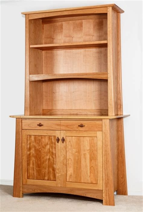 Cherry Hutch Cherry Hutch With Walnut Accents Mission Style Craftsman