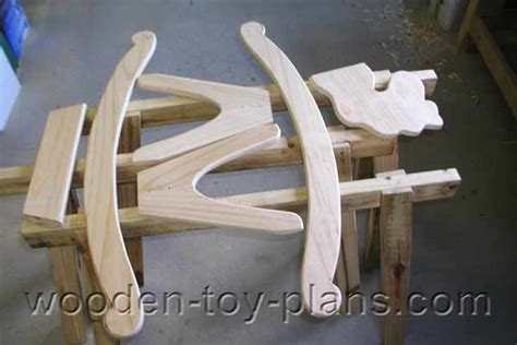 rocking horse plan   instructions included