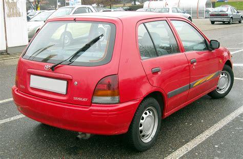 Toyota Corolla 1999 Interior File Toyota Starlet Rear 20081218 Jpg