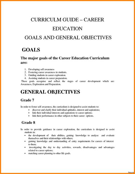 career goals and objectives for nursing work goals and objectives exles career goals and